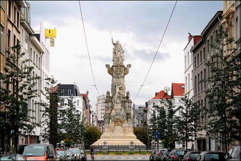 Monument Schelde Vrij in Antwerpen