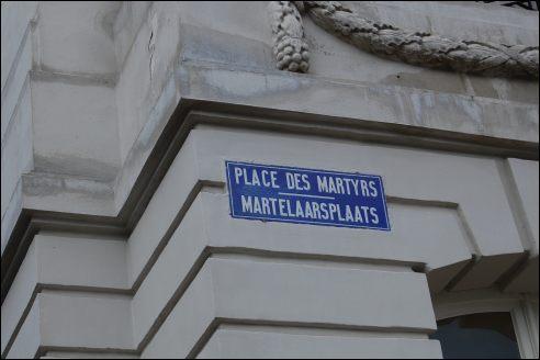 Martelaarsplaats Brussel