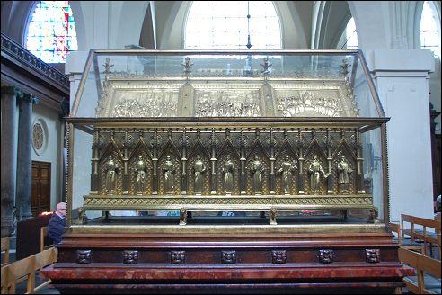 Schrijn met de relieken van de heilige martelaren