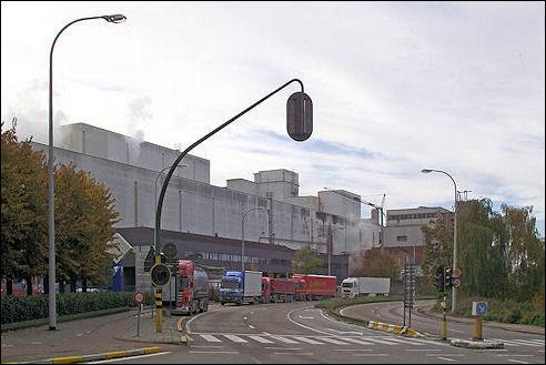 Suikerfabriek in Tienen