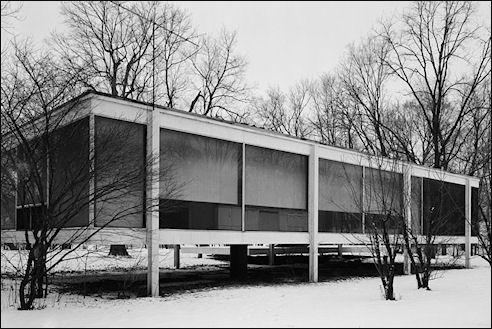 Farnsworth House Mies van der Rohe
