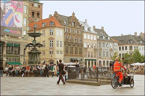 Hojbro Plads in Kopenhagen