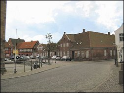 Domplein in Ribe