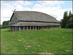 Trelleborg Vikinghuis (Foto: Ben Hendriks)