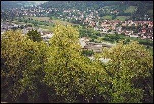 Uitzicht vanaf Plassenburg