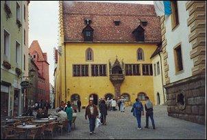 Oude Raadhuis in Regensburg