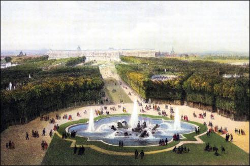 Tuinen Versailles