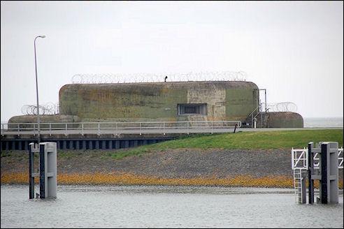 Bunkers bij Kornwerderzand