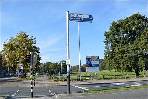 Kruispunt Zijpendaalseweg en Sonsbeekweg in Arnhem