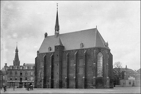 Mariënburgkapel in Nijmegen aan het begin van de 20e eeuw
