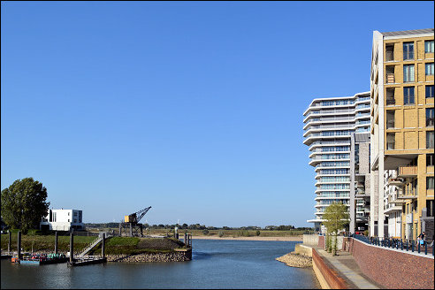 Waalhaven in Nijmegen