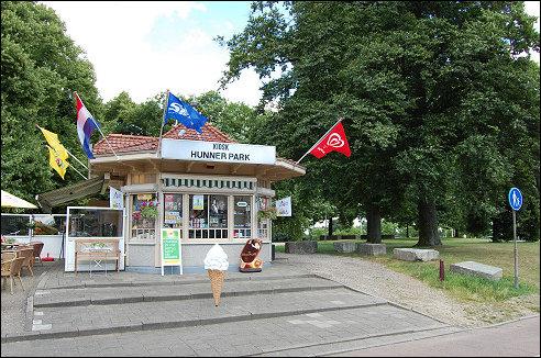 Kiosk Hunnerpark in Nijmegen