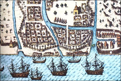 De eerste expeditie van de VOC