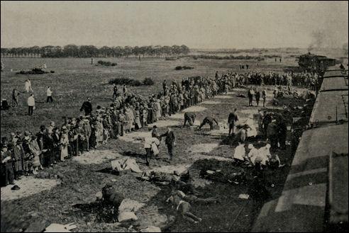 Demonstratie hulpverlening na een spoorwegongeluk