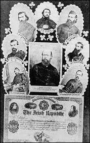 Herinnering gestorven Fenians