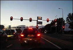 Stoplichten in Arnhem