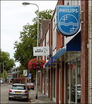 Philips in straatbeeld Oss (foto: Ruud van Capelleveen)