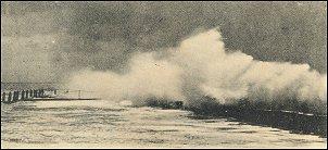 Storm in Vlissingen (ansicht 1905)