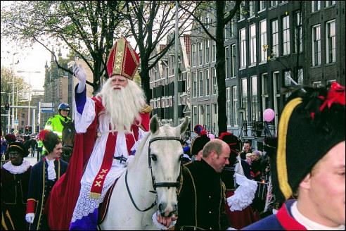 Sinterklaasintocht in Amsterdam