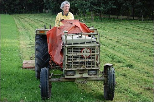Tractor in Duiven