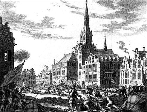 Aanslag Wederdopers in Amsterdam