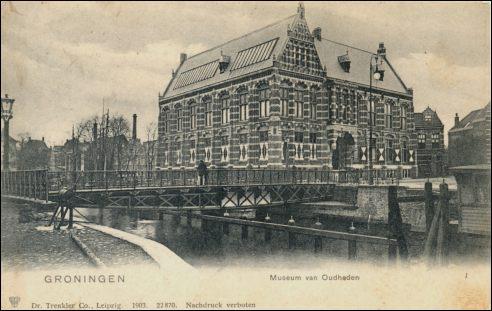Museum van Oudheden in Groningen