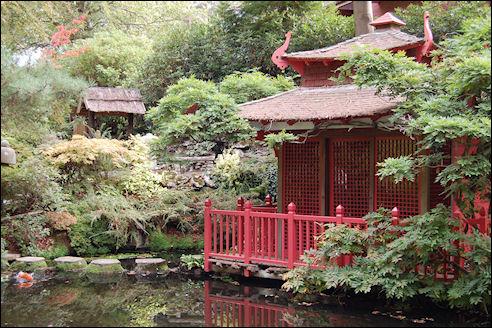 Compton Acres Japanse Tuin