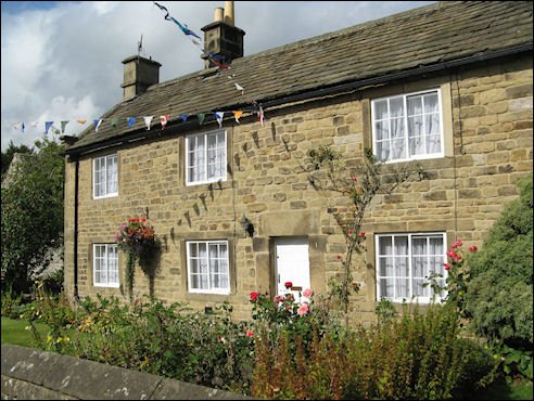 Eyam cottages