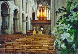 Interieur kathedraal van Norwich