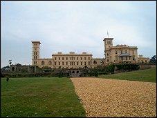Osborne House op Wight