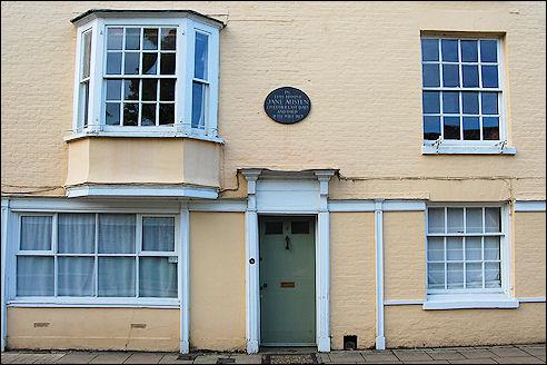Winchester Jane Austen House