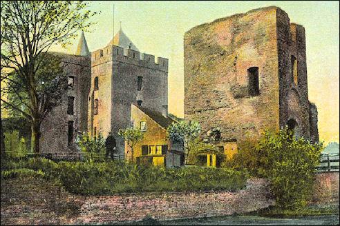 Ruïne kasteel van Brederode