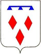 Het wapen van het kasteel Den Ham is boven de poortdoorgang aangebracht
