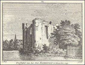 Kasteel Heenvliet of Ravesteyn door C. Pronk