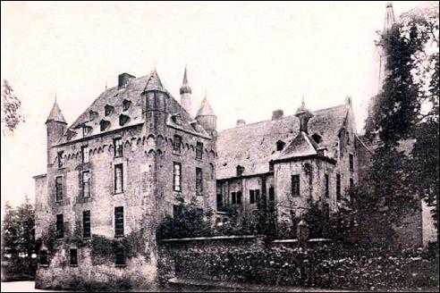 Kasteel Doorwerth in 1905