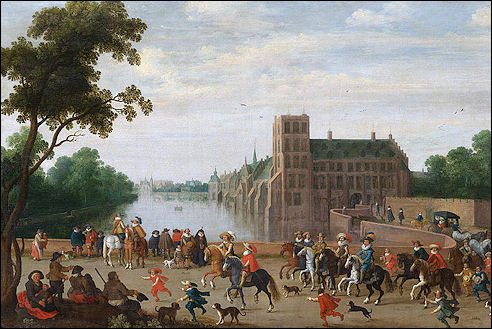 Stadhouderlijk Kwartier bij het Binnenhof