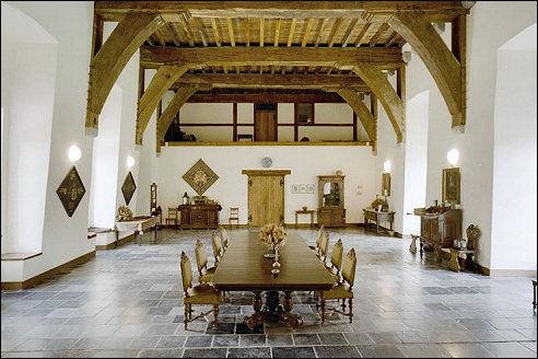 Ridderzaal van een kasteel