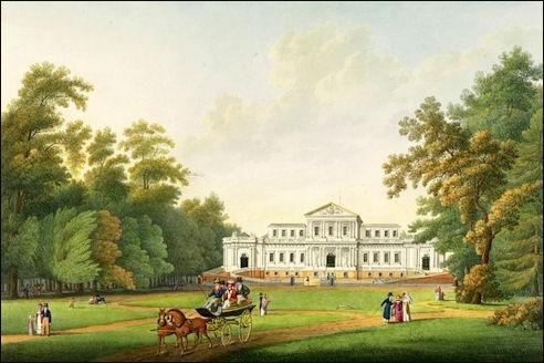 Paviljoen Welgelegen omstreeks 1810