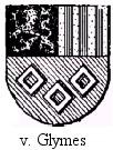 Het wapen van Jan van Glymes