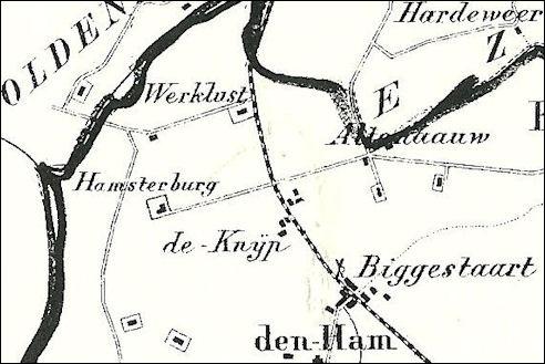 Kaart Aduard