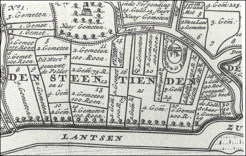 Kaart Steyaart Spreeuwenstein