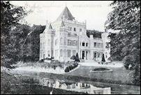 Kasteel Sandenburg in Nederlangbroek in begin twintigste eeuw