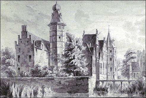 Kasteel Westerveld bij Zwolle