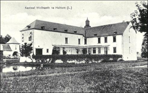 Kasteel Wolfrath bij Holtum