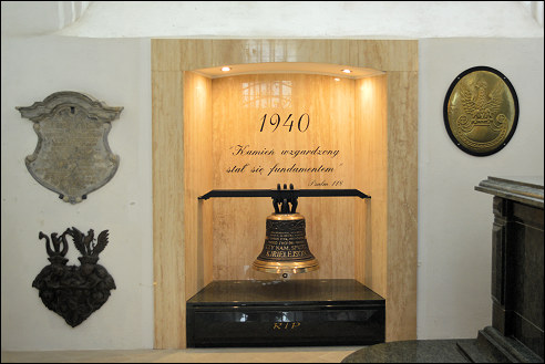 Katynkapel in Sint-Elisabethkerk in Breslau