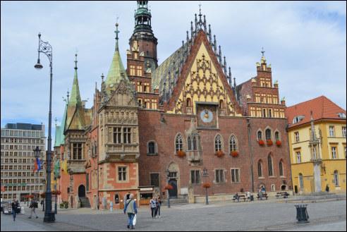 Stadhuis Breslau