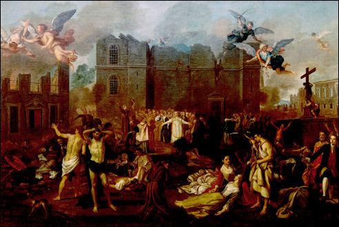 Aardbeving Lissabon in 1755