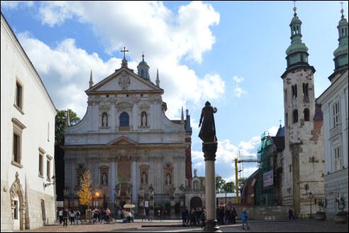 Petrus en Pauluskerk in Krakau