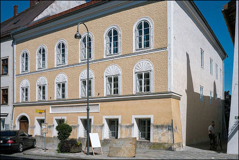 Hitlerhuis in Braunau am Inn