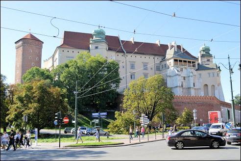 Wavel in Krakau